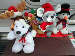 Christmas Plush Toys - Sears Canada (5 for $10.00) & Coaster Set