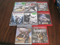 Lot of 8 Sony PS3 games