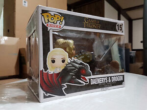 Funko POP Game of Thrones - Dragon & Daenerys Figure