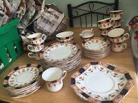 52 piece colclough bone china dinner/tea set