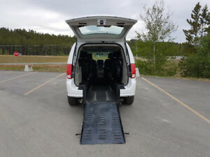 2015 Wheelchair Accessible  Dodge Grand Caravan