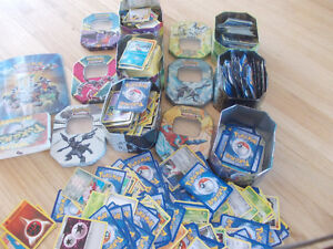 Pokemon Cards, tins and booklets