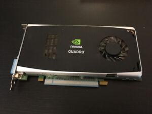 Carte graphique Nvidia Quadro Fx 1800