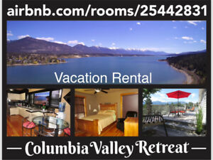 Vacation Rental Invermere.BC :  Airbnb.com/rooms/25442831.