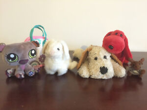 Lot of Plush Toys (Collectibles)