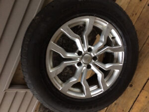 Audi A8 18 inch rims and winter tires