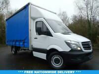 2017 17 MERCEDES-BENZ SPRINTER 2.1 314CDI 140 BHP EURO 6 LWB LUTON CURTAIN SIDE