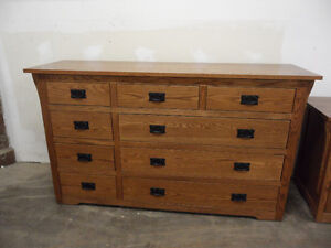 Solid Oak/Maple Bedroom set for sale - Mennonite furniture