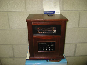 GARRISON WOOD CABINET INFRARED HEATER FOR SALE