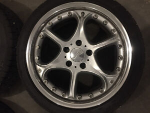 18's hartge rims with cooper tires