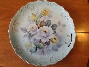 Hand Painted plate by T. Kita