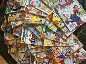 Archie, Jughead, Betty, and Veronica Comics