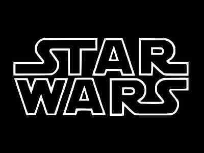 STAR WARS logo Vinyl Decal Car Window Wall Sticker CHOOSE SIZE COLOR