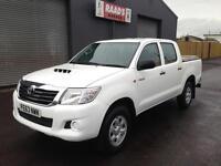 * SOLD * 2013 (63) Toyota Hilux 2.5 D4-D HL2 Double Cab 4x4 Diesel Pickup