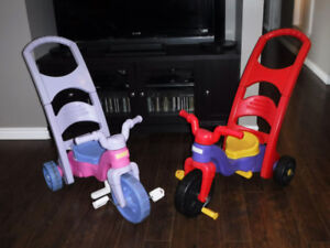 2 Tricycles 3 en 1 Fisher Price