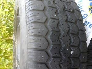 215/70/R15 Tiger Paw winter tires on rims, still have good tread