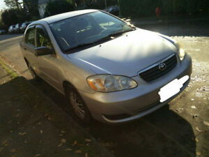 Toyota Corolla CE 2006 - ex-driving school car with M+S tires