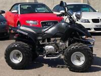 LONCIN LX110 110CC ROAD LEGAL QUAD BIKE 4 SPEED BLACK