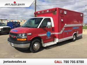 2009 Chevrolet Express Commercial Cutaway Loaded Ambulance, 6.6L