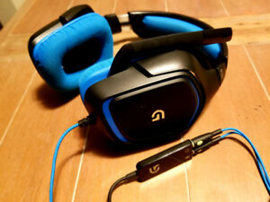 Logitech G430 Virtual 7.1 Surround Sound