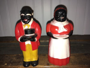 Aunt jemima and include Mose salt/pepper shakers