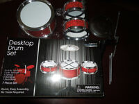 Mini Desktop Drum Set