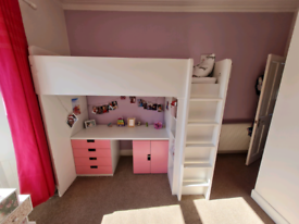 Ikea smastad high sleeper. Cabin bed. Single bed. Perfect condition