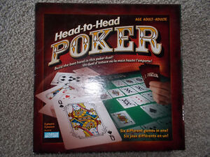 Head-to- Head Poker Game-Never opened London Ontario image 1