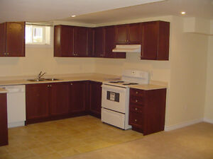 Beautiful 2 BDR Basement Apt in Ancaster - July 1st.
