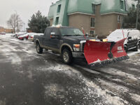 Winter storm coming !! Snow plowing and salting