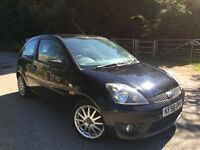 Ford Fiesta zetec S half leather black