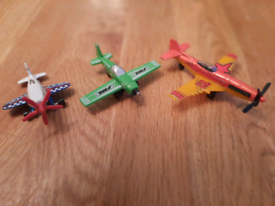 Planes and helicopters £1 each.