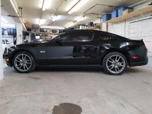 2012 Mustang GT Coupe 6spd Premium Black on Black Brembo brakes