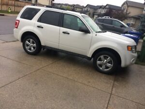 2012 Ford Escape XLT SUV 4X4 - Clean Carproof