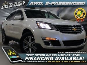 2015 Chevrolet Traverse LT AWD | Low KM | PST PAID