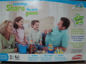 NEW LEARNING TO SHARE FUN PARK GAME FOR PRESCHOOL 4+ LEARN PLAY