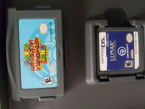 Lunar dragon song DS and Mario pinball land GBA