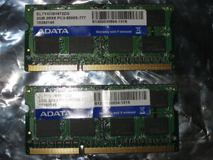 ADATA 4GB DDR3 laptop RAM memory kit for Apple Macbook & iMac