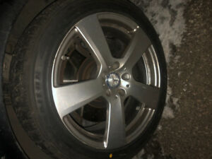 "Mercedes 18"" MAGS +  WINTER TIRES"