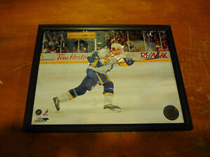 Buffalo Sabres Brian Campbell Framed Picture