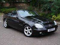 EXCELLENT EXAMPLE! 2002 MERCEDES-BENZ SLK 2.3 SLK230 AUTO KOMPRESSOR CONVERTIBLE