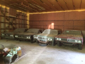 66 & 67 Beaumont Hardtops - dry stored +35 years / RARE finds. London Ontario image 2