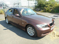 BMW 318 ES 4 DOOR MANUAL PETROL LEATHER SAT NAV
