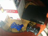 Sony Playstation 3 + 2 manette + 10 jeux