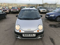 Chevrolet Matiz 1.0 SE 2005 LOW MILEAGE ONLY 52K & MARCH 18 MOT