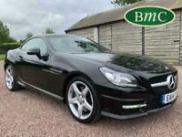 2014 Mercedes-Benz SLK 1.8 SLK200 BlueEFFICIENCY AMG Sport 7G-Tronic Plus (s/s)