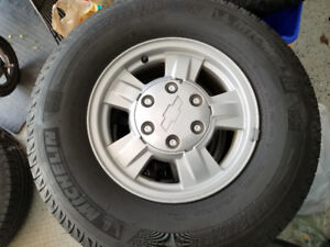 Michelin X-Ice 2 Winter Tires and Rims for sale