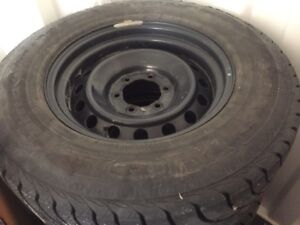Toyota winter tires and rims