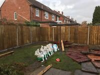 Fencing,turfing, tree felling al aspects of gardening cheap rates!!