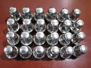 Ford Factory OEM Stainless Lugs Lug Nuts (wheel) 4L3Z-1012-A